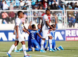 Alianza con 10 hombres cayó 4-1 ante Binacional en Juliaca