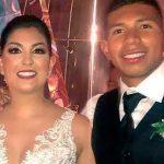 Edison Flores y Ana Siucho se casaron, y compartieron inolvidable momento