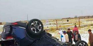 Jugadores de Binacional sufrieron accidente automovilístico