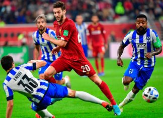 Liverpool venció 2-1 a Monterrey