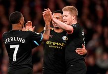 Manchester City goleó por 3-0 al Arsenal en el Emirates Stadium