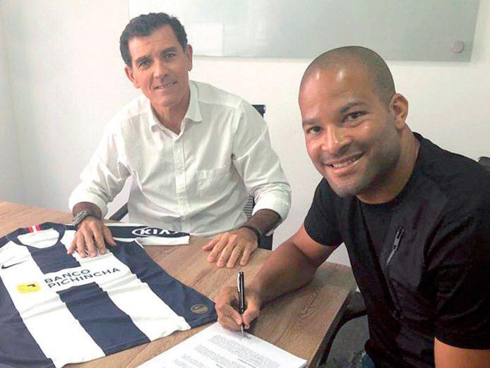 Alberto Rodríguez llego a Alianza Lima