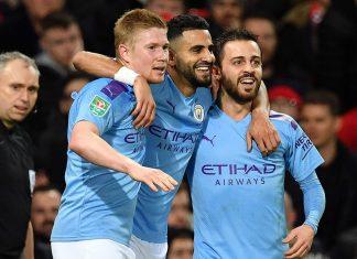 Manchester City derrotó 3-1 a Manchester United