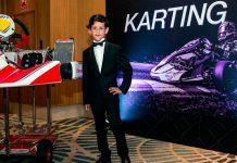 Mariano con la postal del deporte que más lo apasiona