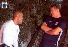 Pablo Bengoechea y Alberto Rodríguez