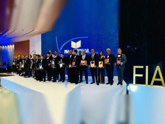 Todos los premiados del continente en el FIA AWARDS