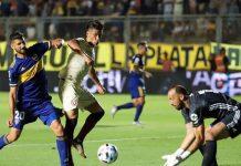 Universitario no pudo ante Boca Juniors y cayó 2-0 en San Juan