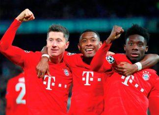 Bayern Múnich goleó 3-0 a Chelsea en Stamford Bridge