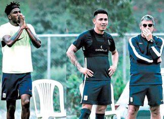 Bengoechea afirmó en conferencia de Prensa, que Deza y Ascues vuelven