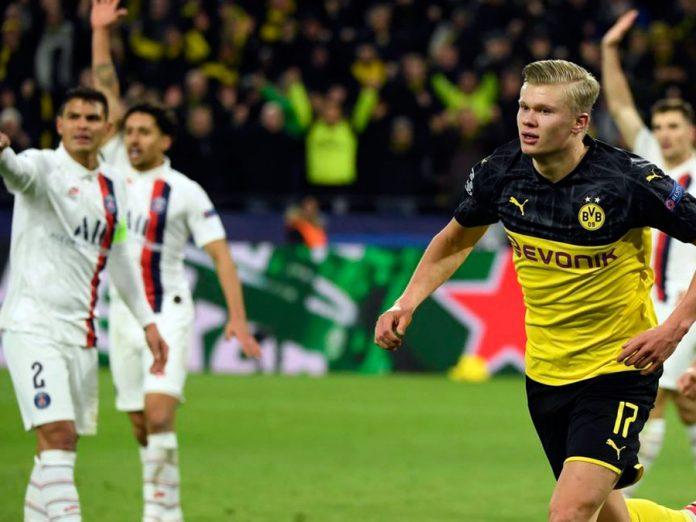 Borussia Dortmund venció 2-1 al PSG en el Signal-Iduna-Park