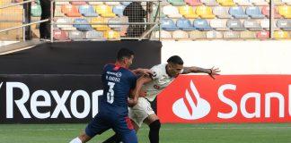 Universitario empató 1-0 con Cerro Porteño
