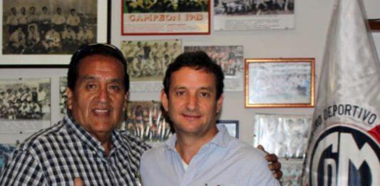 José 'Pepe' Córdova y Renzo Reggiardo