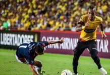 Por la tercera fase de la Copa Libertadores, Barcelona SC se impuso 1-0 ante Cerro Porteño de Paraguay