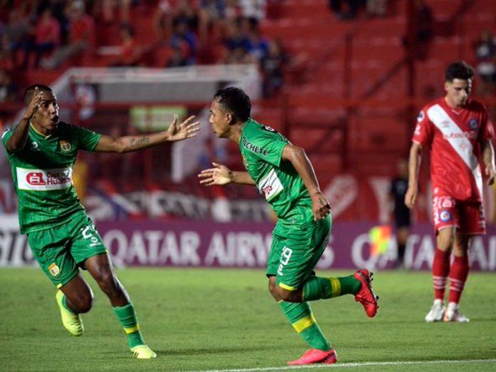 Sport Huancayo en la Copa Sudamericana empató 1 – 1 a Argentinos Juniors