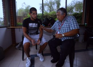 Luis Abram con Fernando Jimenez