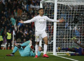 Con goles de Vinicius y Mariano, Real Madrid se impuso en el clásico y derrotó 2-0 al Barcelona