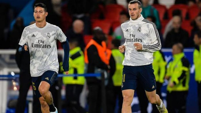 James Rodríguez y Garteh Bale,