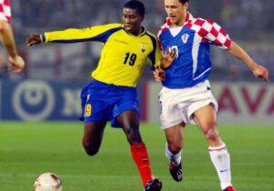 Méndez disputó tres mundiales, en los cuales dio dos asistencias y marcó un gol