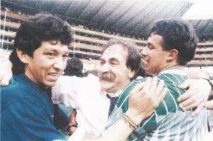 Azcargorta es recordado por ser el único entrenador en clasificar a un mundial con la selección Boliviana