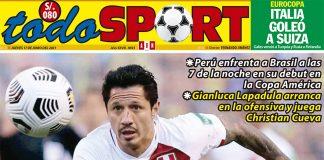 Portada Todo Sport (17-06-2021)
