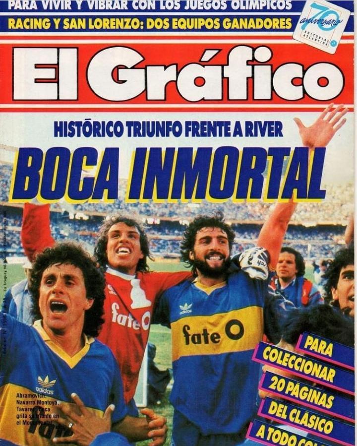 El 'Ruso' tuvo de compañero a 'Navarro' Montoya y al 'Loco' Gatti. Dos grandes arqueros de la institución xeneize
